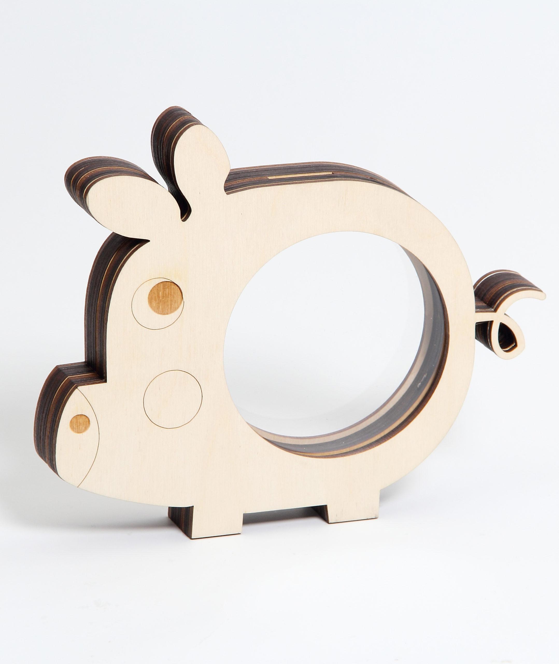 tirelire Carr/é Design Carving Work avec Lock Coin Box tirelire Banque dargent en bois